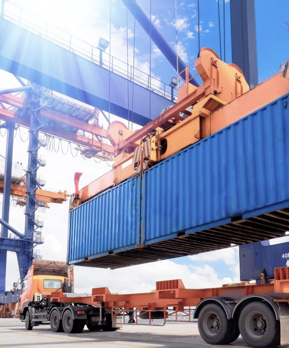 Автомобильная перевозка генеральных грузов и контейнеров