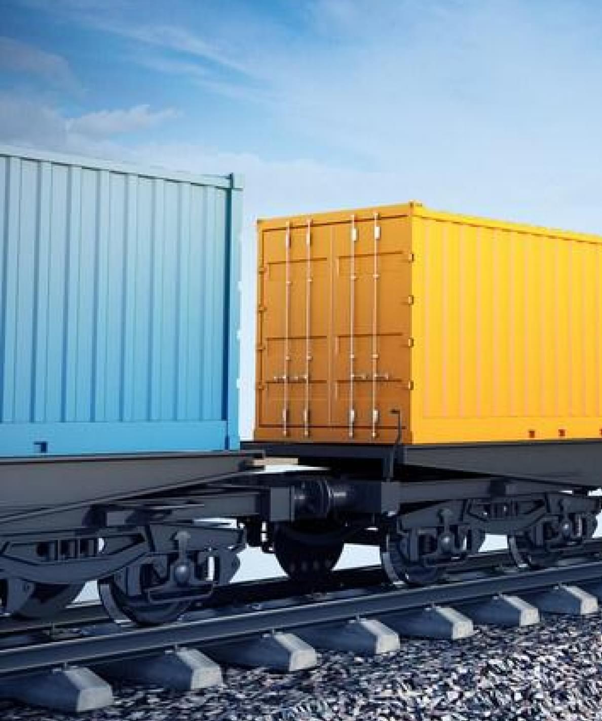 Отправка пиломатериалов в составе контейнерных поездов, повагонными отправками